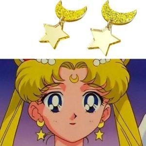 Sailor Moon and Sparkles